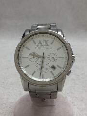 アルマーニエクスチェンジ/AX2058/クォーツ腕時計/アナログ/ステンレス/SLV/SLV