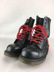 ドクターマーチン/ブーツ/UK7/BLK/すり減り有