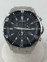 シチズン/エコドライブ/ソーラー腕時計/H500-S064538/アナログ/BLK/SLV