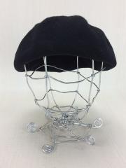 ベレー帽/FREE/ウール/BLK