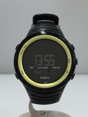CORE/コア/クォーツ腕時計/アナログ/ラバー/BLK/BLK/ガラス傷有