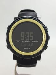 CORE/コア/クォーツ腕時計/デジタル/ラバー/BLK/BLK/傷、使用感有
