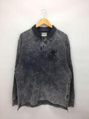 19SS/B&Y別注/cav empt OVER POLO SHIRT/長袖ポロシャツ/L