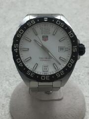 クォーツ腕時計・フォーミュラ1ウォッチ/アナログ/WHT/ダイバーズ FORMULA1