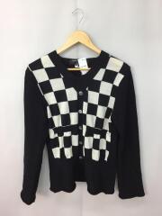 セーター(薄手)/S/ウール/BLK