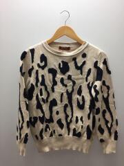 Albata crew neck sweater/セーター/L/コットン/アニマル