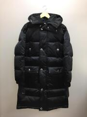 19AW/×MMW/DOWN FILL JACKET/S/ナイロン/BLK/AR5610-010