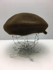 ベレー帽/ウール/KHK/TSU00493