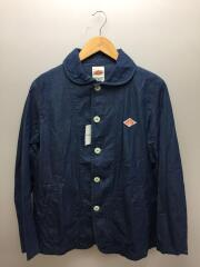 INDIGO TYPEWRITE SINGLE WORK JACKET/38/コットン/IDG/JD-8715