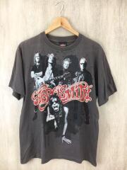 AEROSMITH/TOUR/2011/バンドT/古着/Tシャツ/--/コットン/GRY