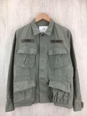 MILITARY JACKET/05173503/ミリタリージャケット/2/コットン/KHK/カモフラ