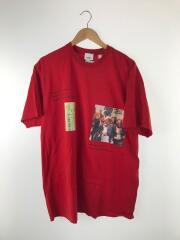 Tシャツ/XL/コットン/RED