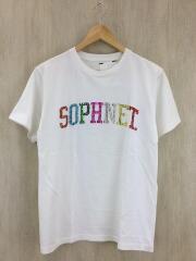 スパンコートTシャツ/S/コットン/WHT/SOPH-170094
