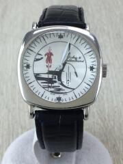 Dubey&Schaldenbrand/自動巻腕時計/アナログ/レザー/WHT/BLK
