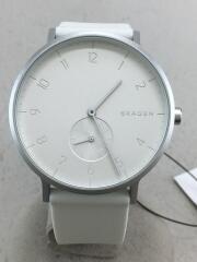 Aaren Kulor/skw6520/腕時計/アナログ/ラバー/WHT/WHT