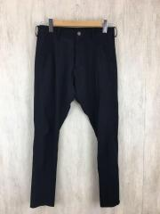 18SS/three-d skinny pant/S/ナイロン/BLK