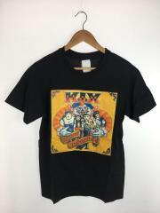 KIX/Tシャツ/M/コットン/ブラック