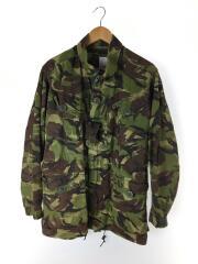 BRITISH ARMY/WOODLAND DPM CAMO F/ミリタリージャケット/ナイロン/カーキ/カモフラ