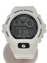 G-SHOCK mini/腕時計/デジタル/ラバー/ブラック/ホワイト