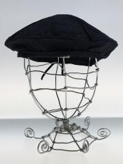 ベレー帽/コットン/ネイビー