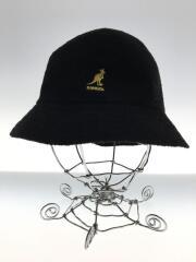 BERMUDA CASUAL BUCKET HAT/バケットハット/M/ポリエステル/ブラック/無地
