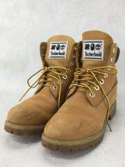 TIMBERLAND×UNDEFEATED×BAPE BOOTS/38/キャメル/レザー