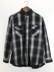 Vintage Fit Flannel Shirt./1/コットン/グレー/チェック