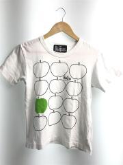 Tシャツ/S/コットン/WHT/ve-t003/HE BEATLES/プリントT