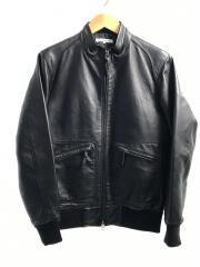 シングルライダースジャケット/M/羊革/ブラック/3225-106-0872