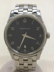 ジャズマスター/シンライン/クォーツ腕時計/アナログ/ステンレス/NVY/H385111