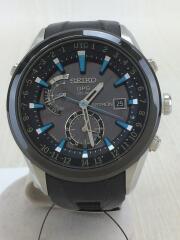 ASTRON/アストロン/GPSソーラー腕時計/アナログ/BLK/BLK/7X520AB0