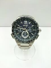 ブライツフライト エキスパート/ソーラー腕時計/BLK/SLV/8B92-0AE0/箱・コマつき
