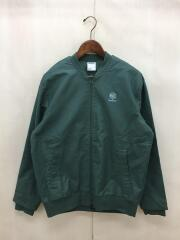 ボマージャケット/ブルゾン/L/コットン/グリーン/CE5044