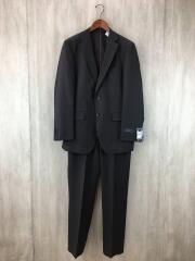 ANGELICO/スーツ/ウール/グレー/ストライプ/総裏/センターベンツ