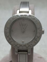 クォーツ腕時計/アナログ/ステンレス/シルバー/ミニシグチャー/CA.25.7.14.0424