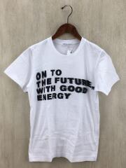 プリントTシャツ/M/コットン/ホワイト/Emergency Special/2020SS