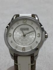 クォーツ腕時計/アナログ/CA.13.7.14.0649/ホワイト/シグネチャー/ラインストーン/3針