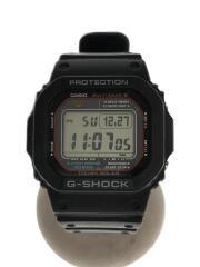 クォーツ腕時計・G-SHOCK/デジタル/BLK/GW-M5610-1BJF