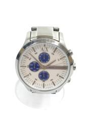 クォーツ腕時計_ステンレス/アナログ/WHT/AX2136