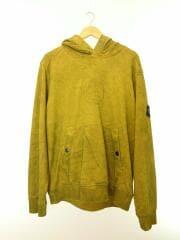19SS/×STONE ISLAND/Hooded Sweatshirt/パーカー/L/コットン/YLW