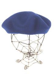 ベレー帽/L/BLU