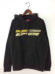 19ss/Motherfucker Hooded Sweatshirt/パーカー/M/コットン/ブラック/無地