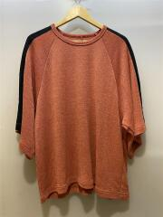 17SS/ E/R PLAIN STITCH S/S BIG-T/Tシャツ/1/レーヨン/ORN