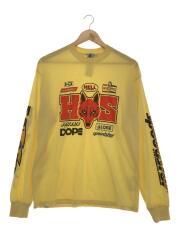 長袖Tシャツ/M/コットン/YLW/19SS/Speedsterリブ付Tシャツ/02191CL01