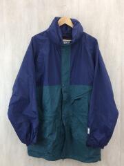 ビッグサイズナイロンジャケット/L/ナイロン/BLU