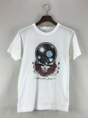80s/GRATEFUL DEAD/1987年コピーライト/SPACE YOUR FACE/Tシャツ/WHT