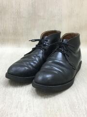 ポストマンチャッカブーツ/26cm/BLK/レザー/9196