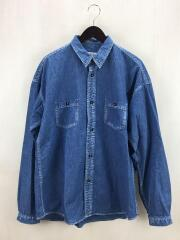 WASHED DENIM SHIRT/4/コットン/IDG/BBCJP195SW001