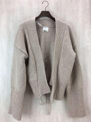 Attractive bulky knit/FREE/ウール/BEG