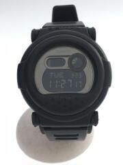 箱有/G-001BB-1JF/クォーツ腕時計・G-SHOCK/デジタル/ラバー/BLK